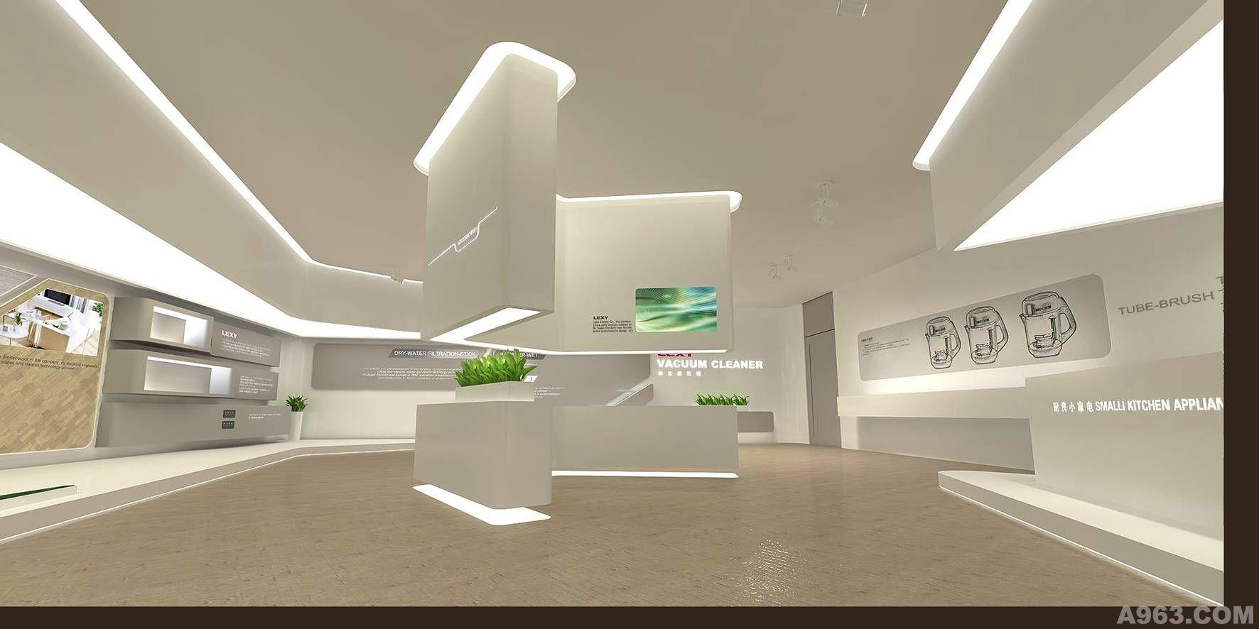 上海展示空间设计作品图片