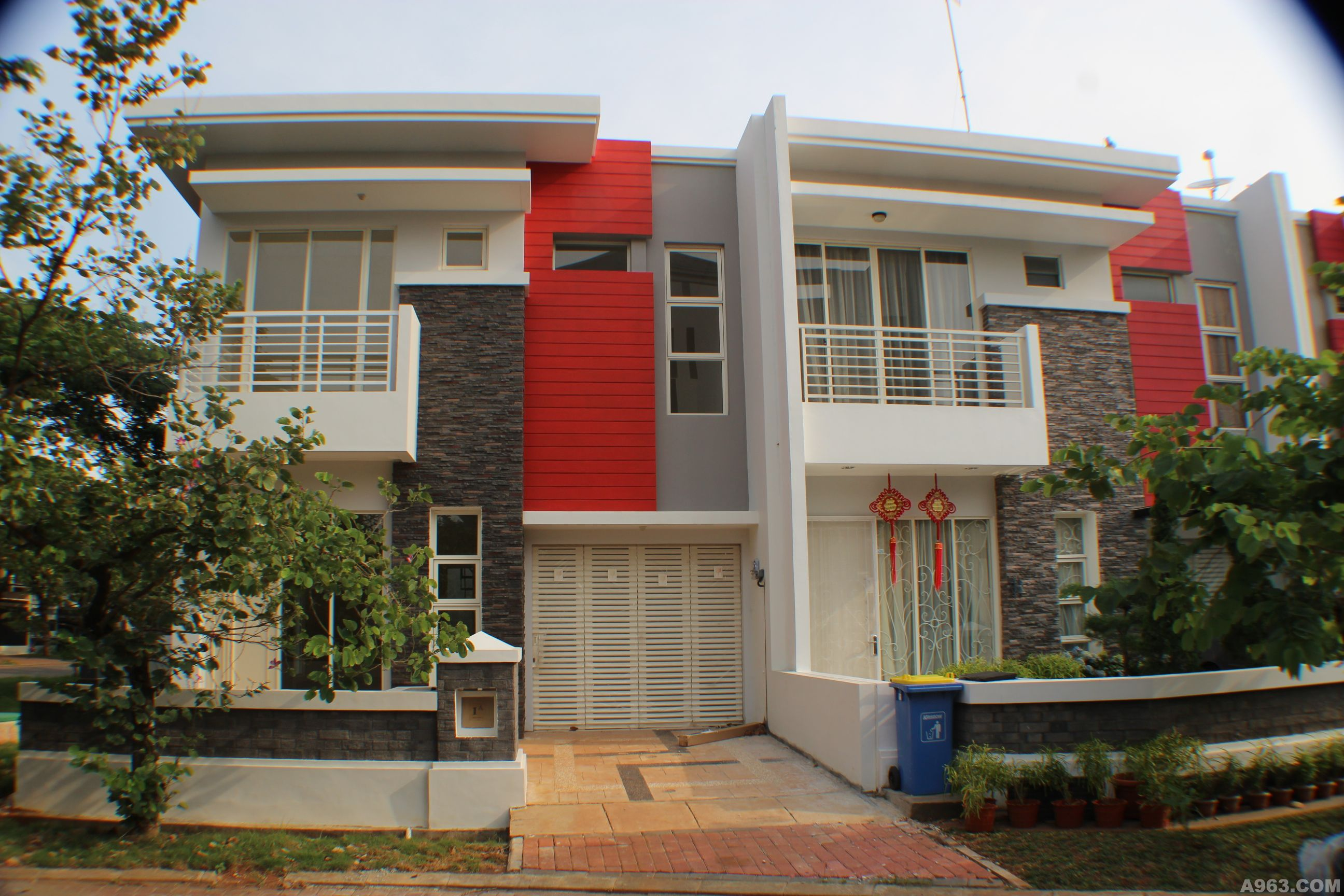 印尼-雅加达建筑别墅设计 - 上海别墅豪宅设计作品 –