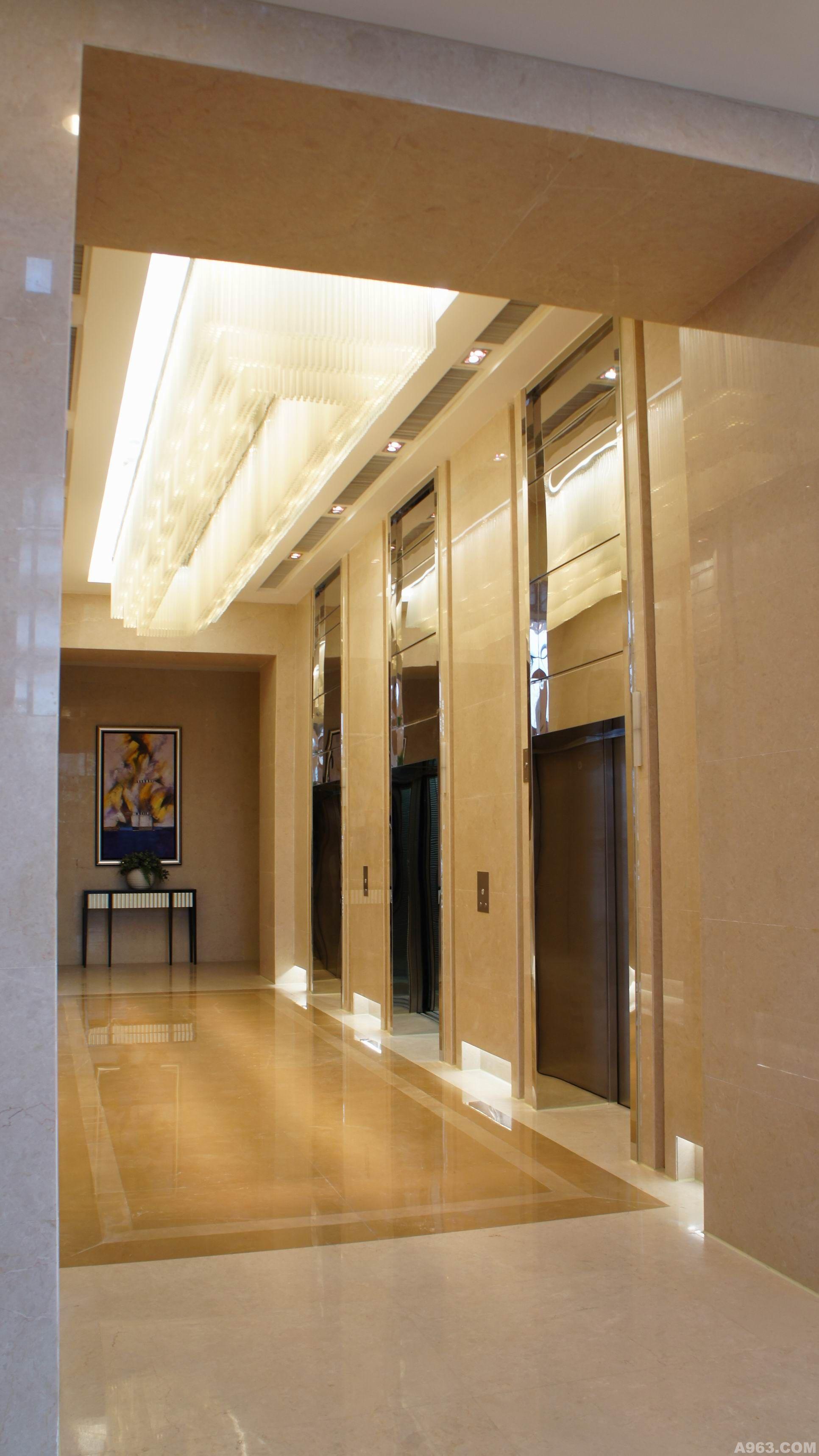 设计师: 华蕊      作品类别:展示空间      太仓万达广场甲级写字楼图片