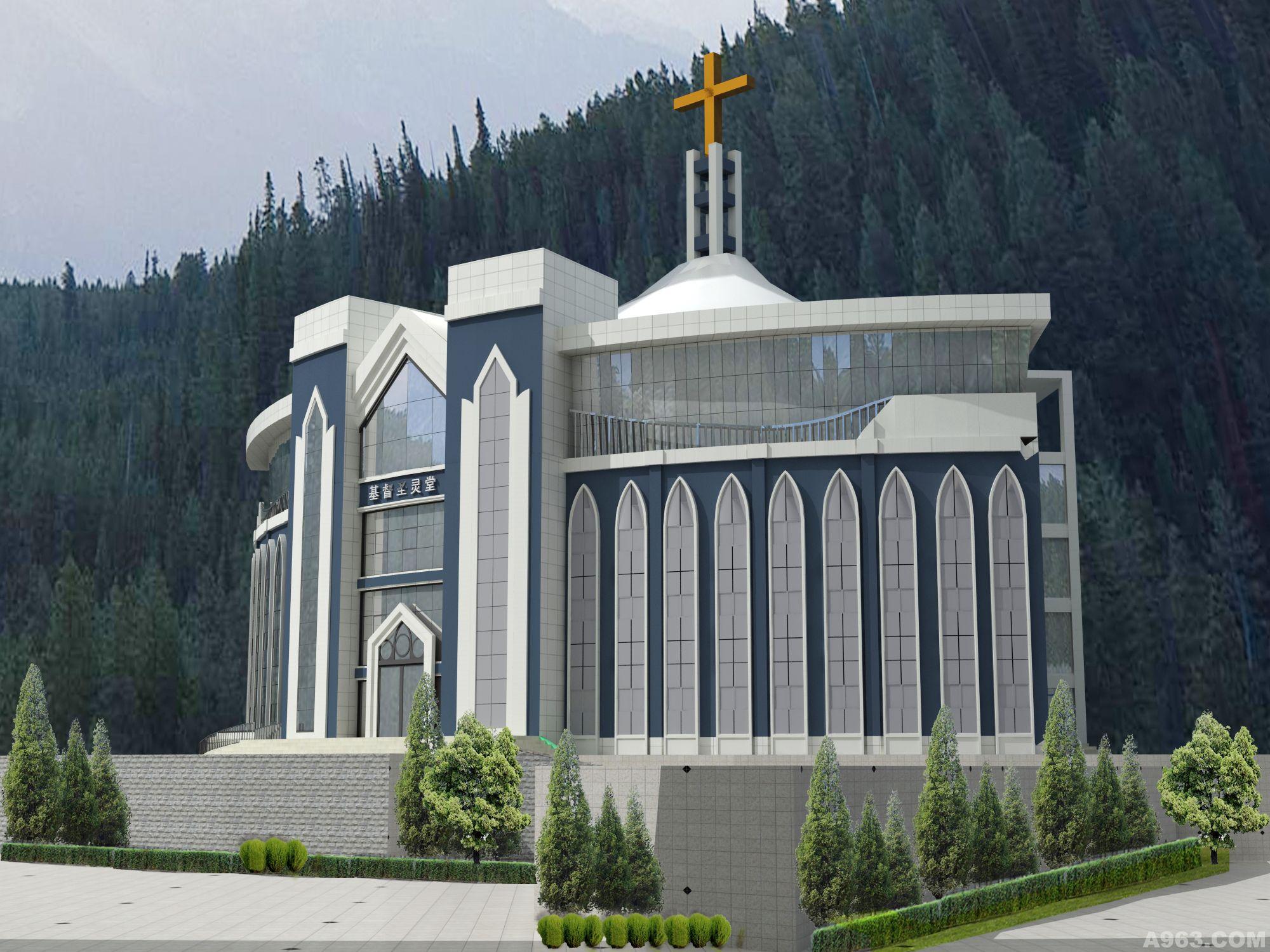 温州圣婴教堂 - 上海建筑设计作品 – 方案 – 经典