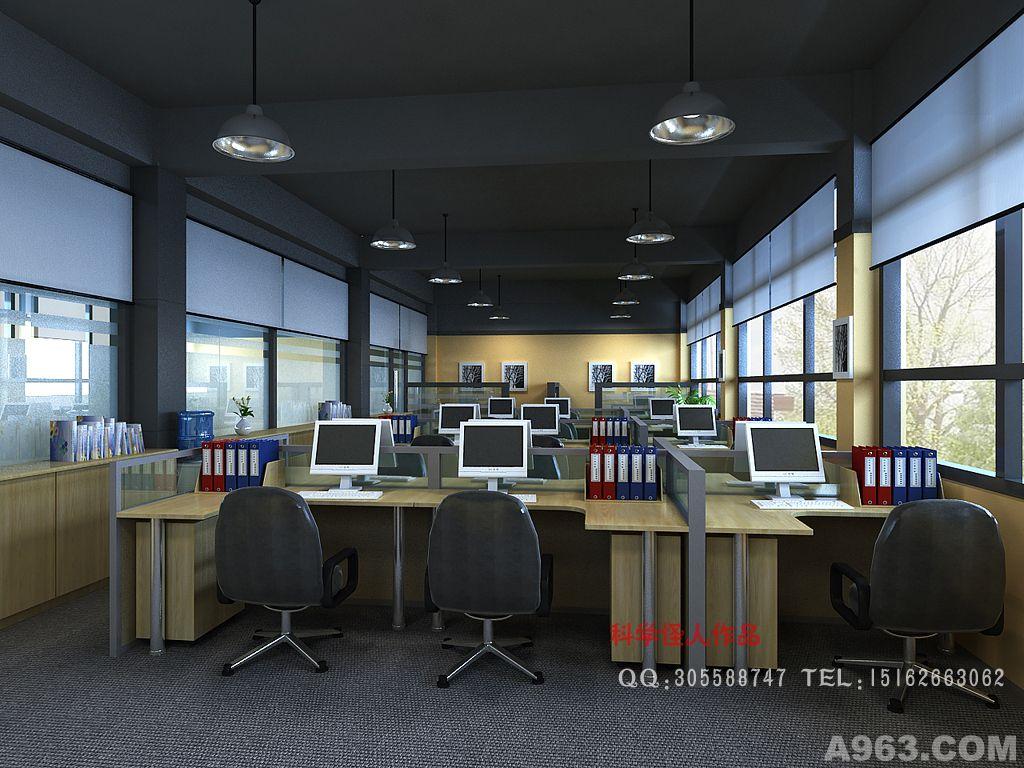 昆山多家厂区办公空间设计 - 上海公共空间设计作品