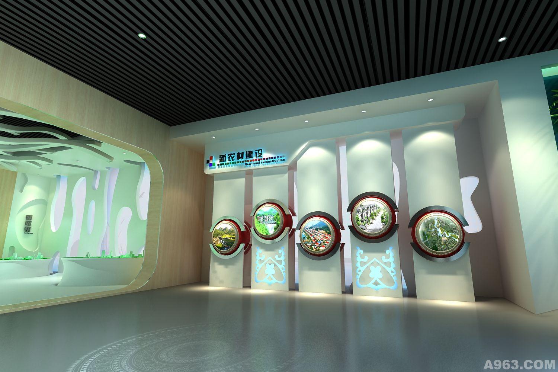 淮南规划馆 - 上海展示空间设计作品 – 方案 – 经典