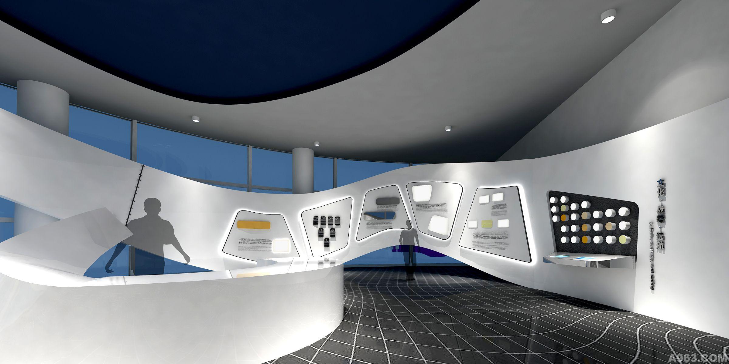 上海飞机制造公司大厅概念稿