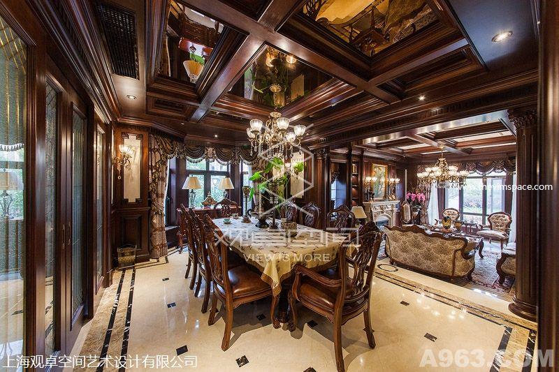 许磊最新实景作品上海东郊别墅英式设计风格