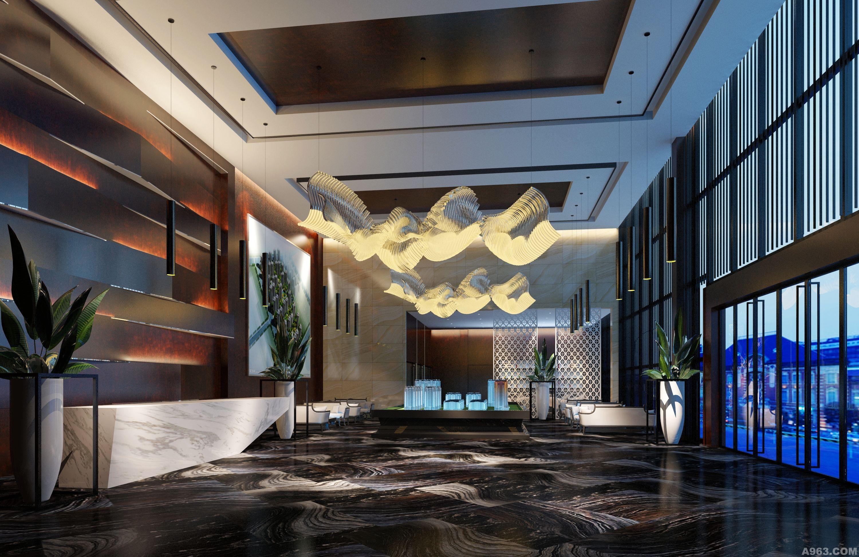 中华室内设计网 作品中心 公共空间 办公空间 > 上海灵长建筑装饰设计