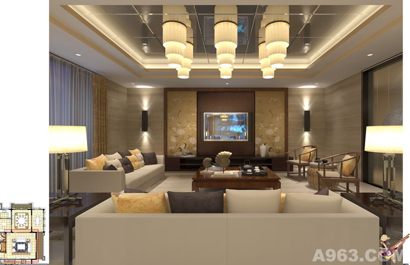 南京大平层 - 上海别墅豪宅设计作品 – 方案 – 经典
