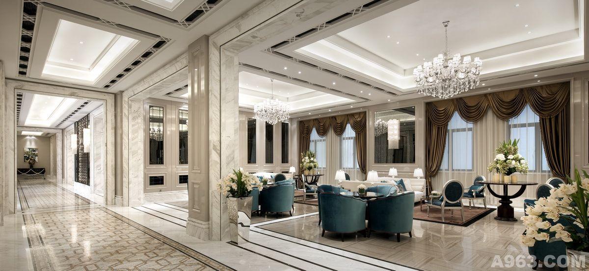 现代风格中庭设计