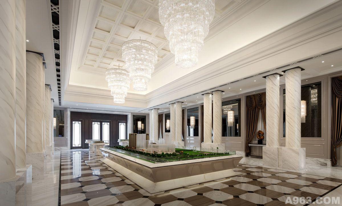 南通新都会售楼处 - 上海售楼处设计作品