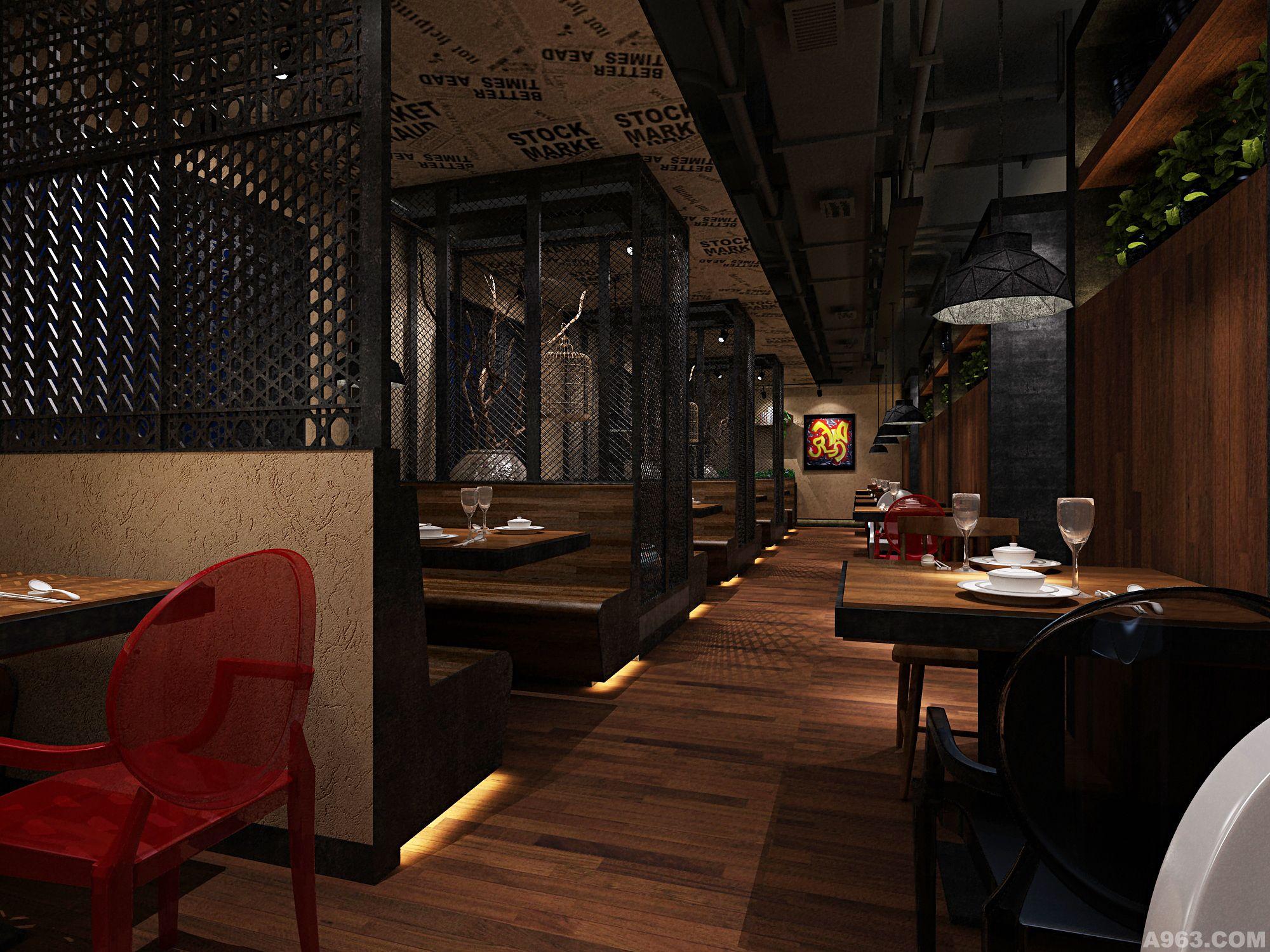 洛阳汝阳味道餐厅 - 上海餐饮空间设计作品 – 方案