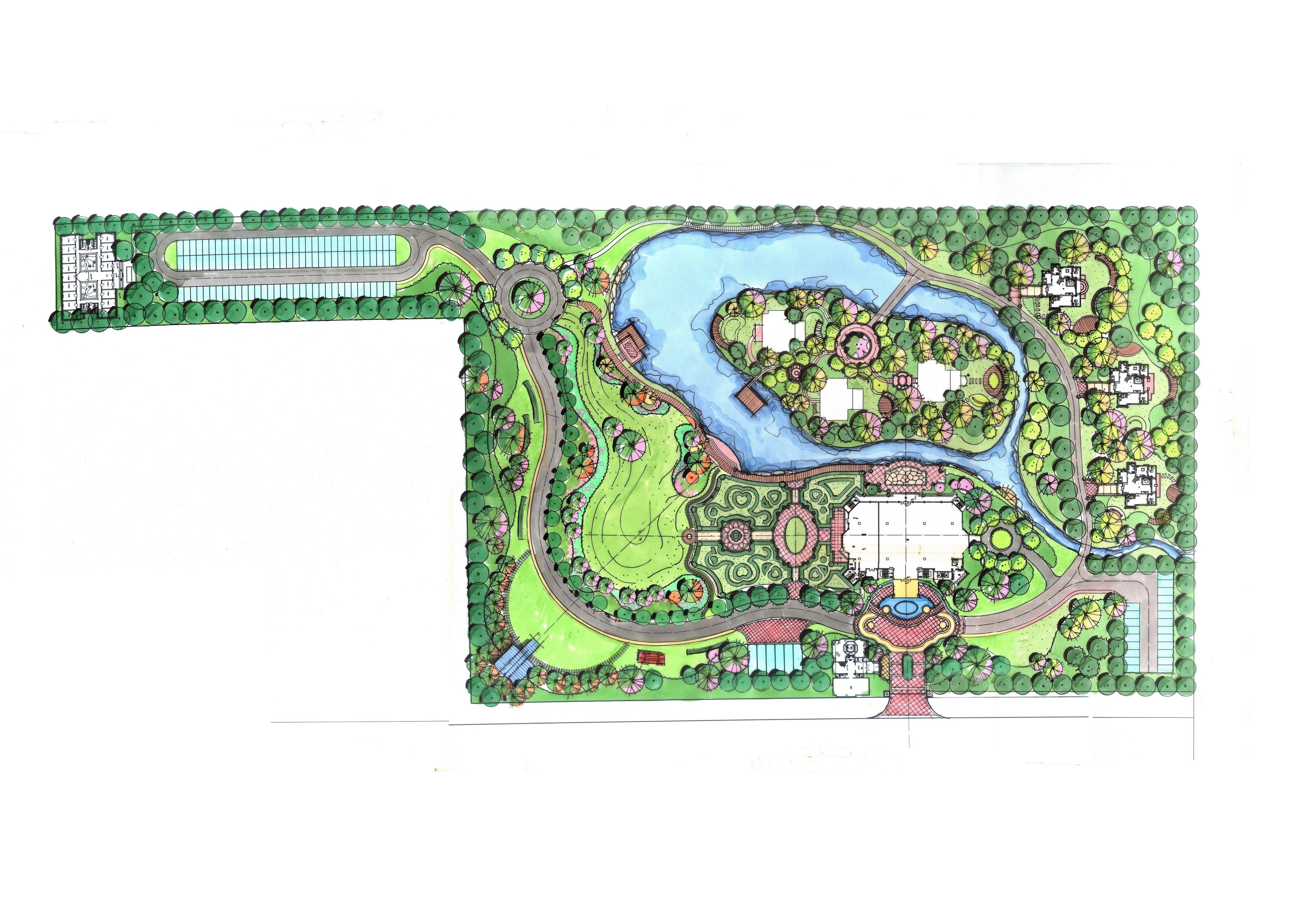 爱玛宫婚礼公园 - 餐饮空间 - 周诗晔设计作品案例