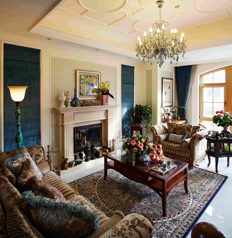 安墁西郊独栋别墅新古典风格装修案例说明