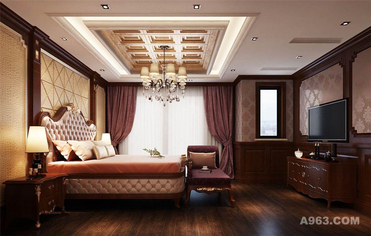 尚东鼎别墅装修美式古典风,腾龙设计曹晖作品说明