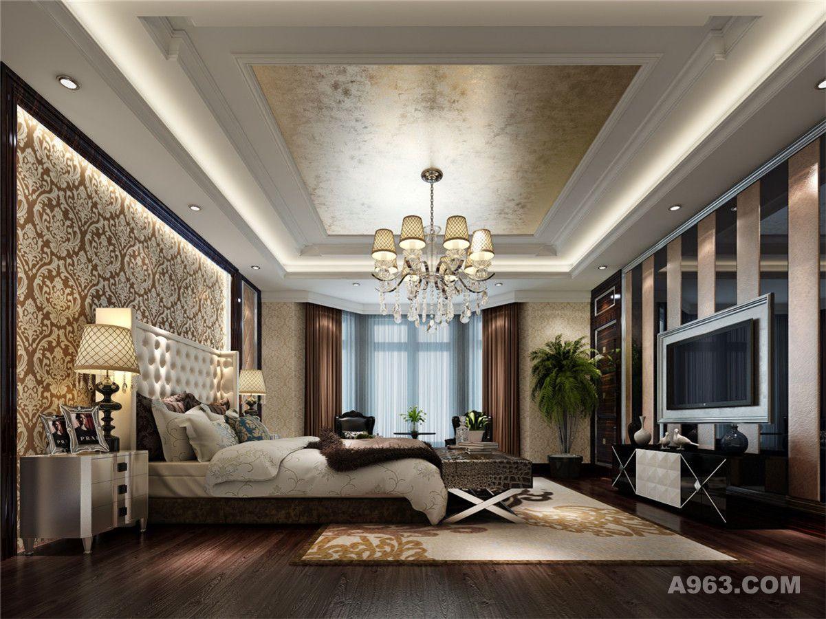 别墅装修欧式古典风格设计方案