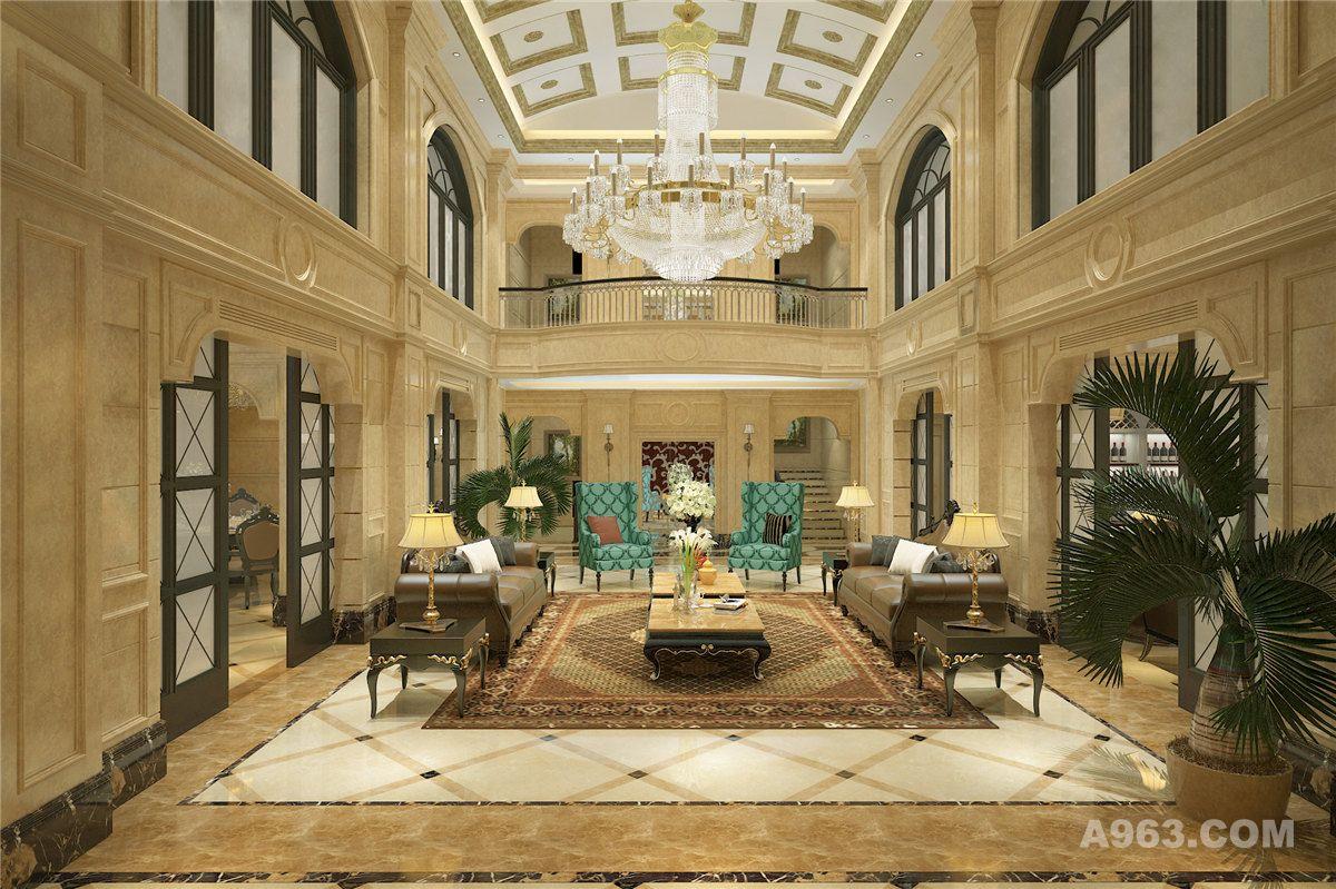 奢华别墅欧式古典风格设计