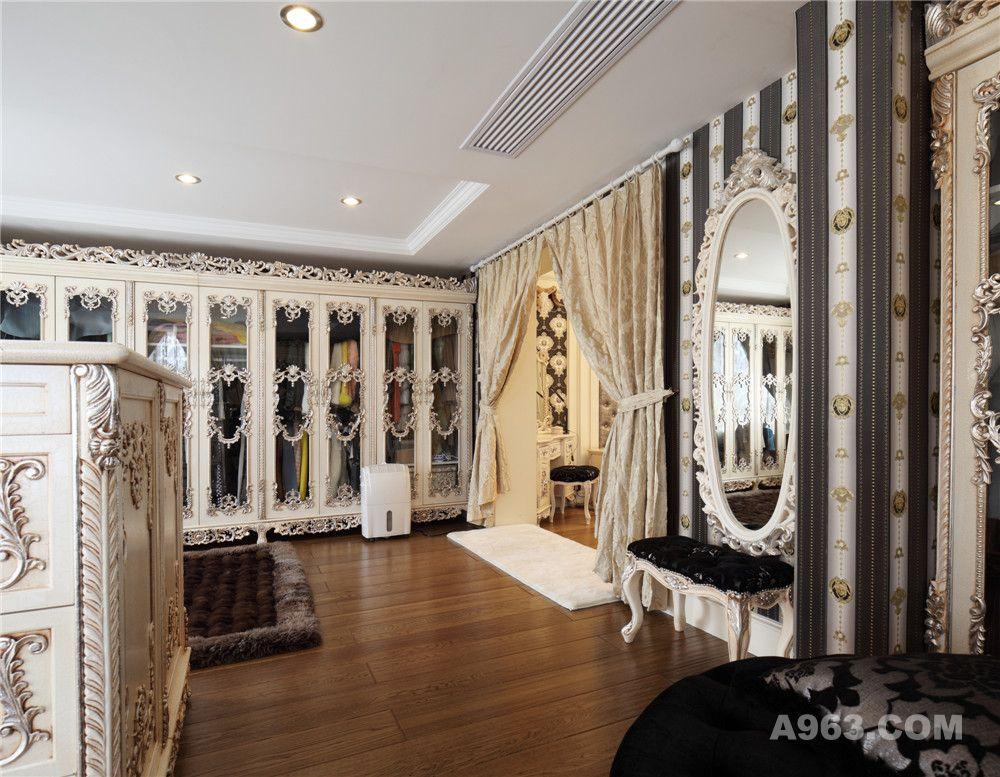 圣淘沙花园别墅装修新古典风格设计方案展示