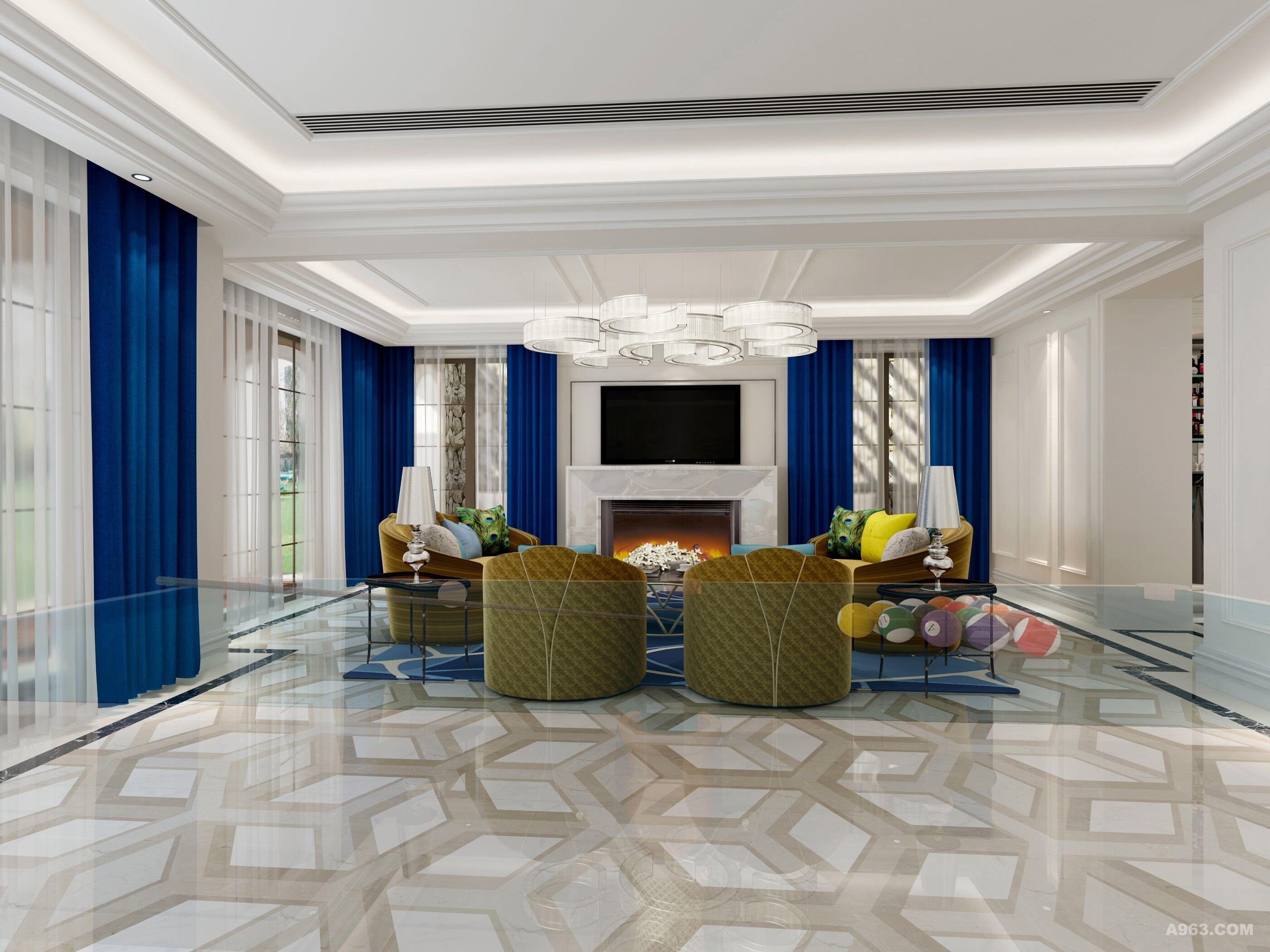 设计说明:本案的设计有近十家装修公司参与竞标,设计师在方案设计中改变楼梯方位,盘活了整个布局,对原有入口处理也很关键,这得益于加盖了门头部分,使玄关变长, 客厅稳定感更强,采用了中西厨房分开,客户非常喜欢,装修风格采用了简欧风格,追求细节,摒弃了过多复杂性,空间的艺术性与使用性得到良好的结合,所以无 论从材质,色彩都要精心挑选,注重建筑的风水,使室内环境和谐平和,设计师在园林,软装都进行了配套。