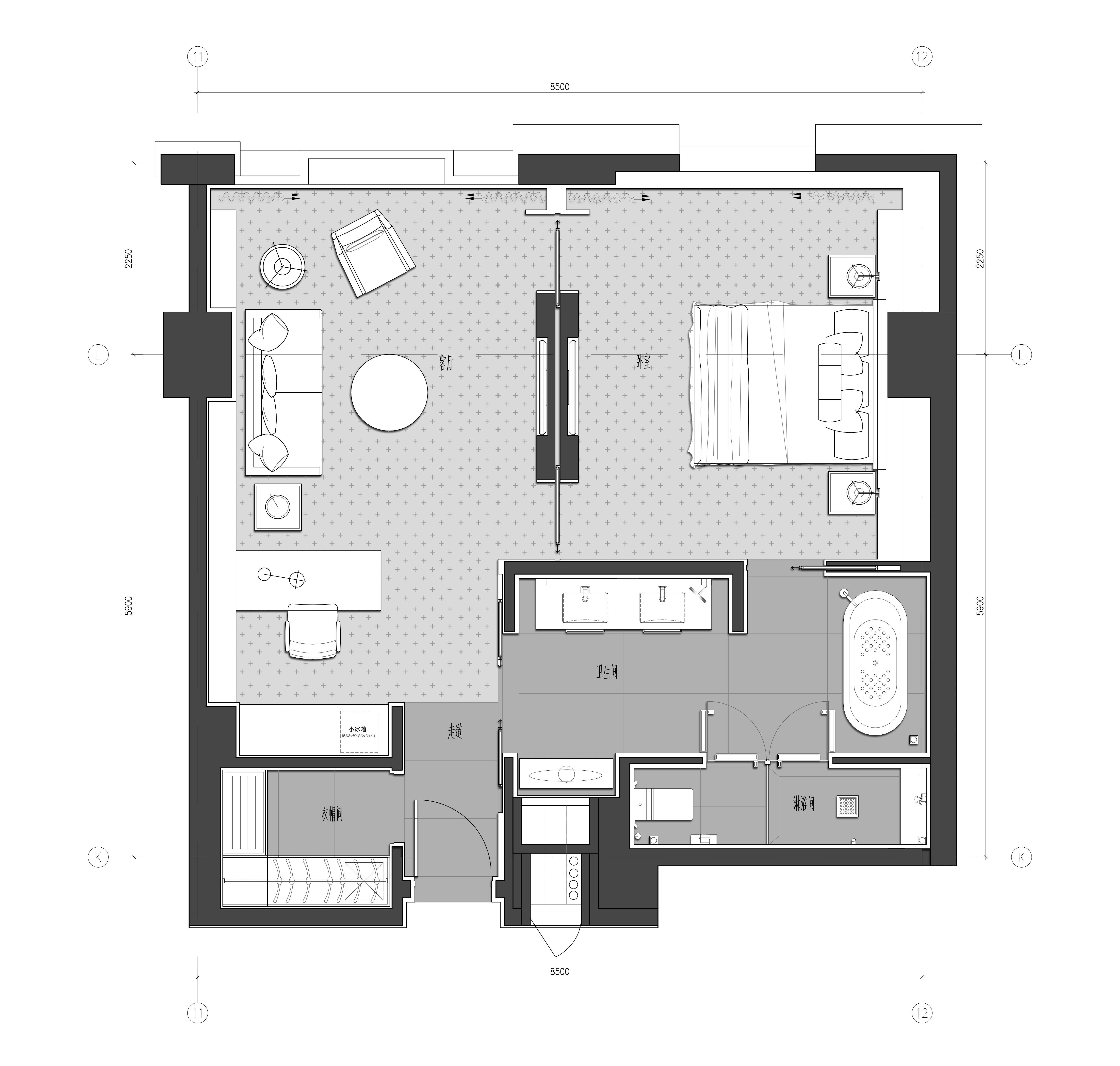 套房好户型结构图