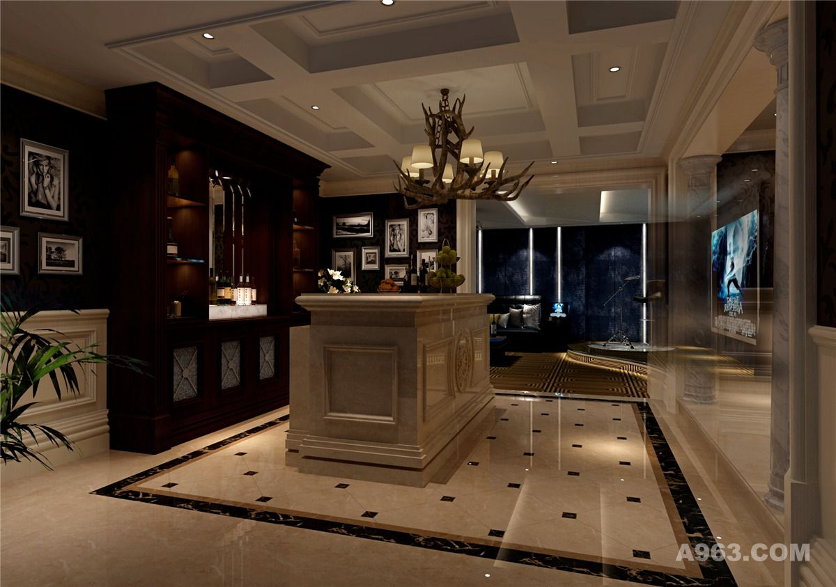 太仓向东岛奢华别墅欧式古典风格设计!