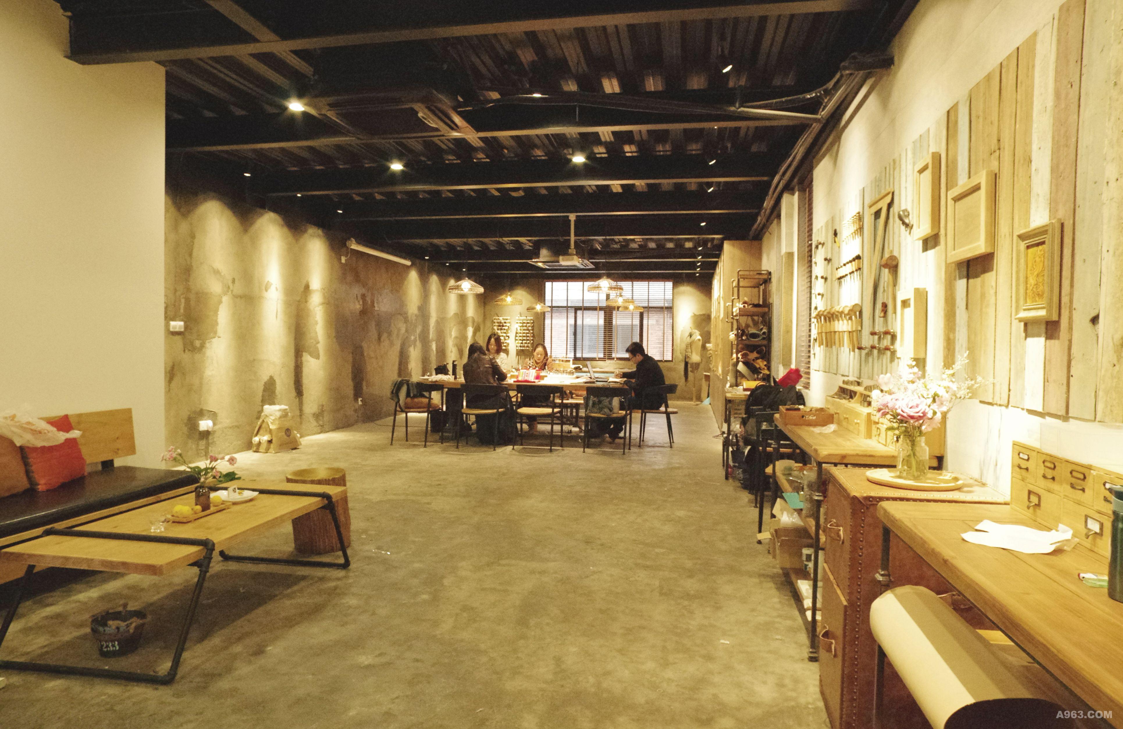 福州匠心咖啡厅 - 餐饮空间 - 程双双设计作品案例