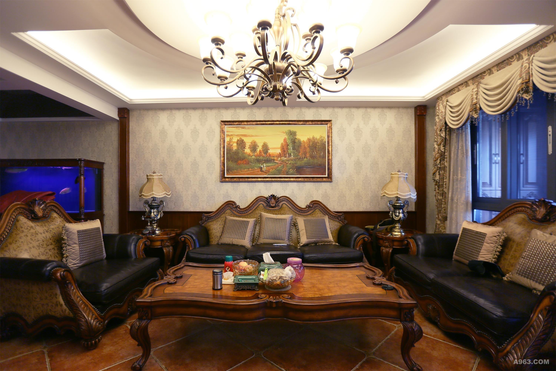 中建府邸别墅装修欧式古典风格完工实景