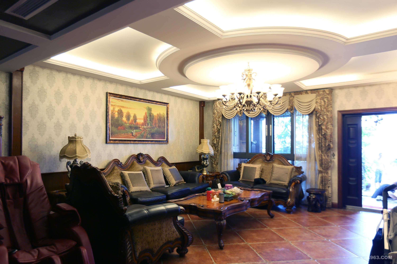 中建大公馆别墅装修欧美风格设计方案展示,上海腾龙别墅设计师曹晖