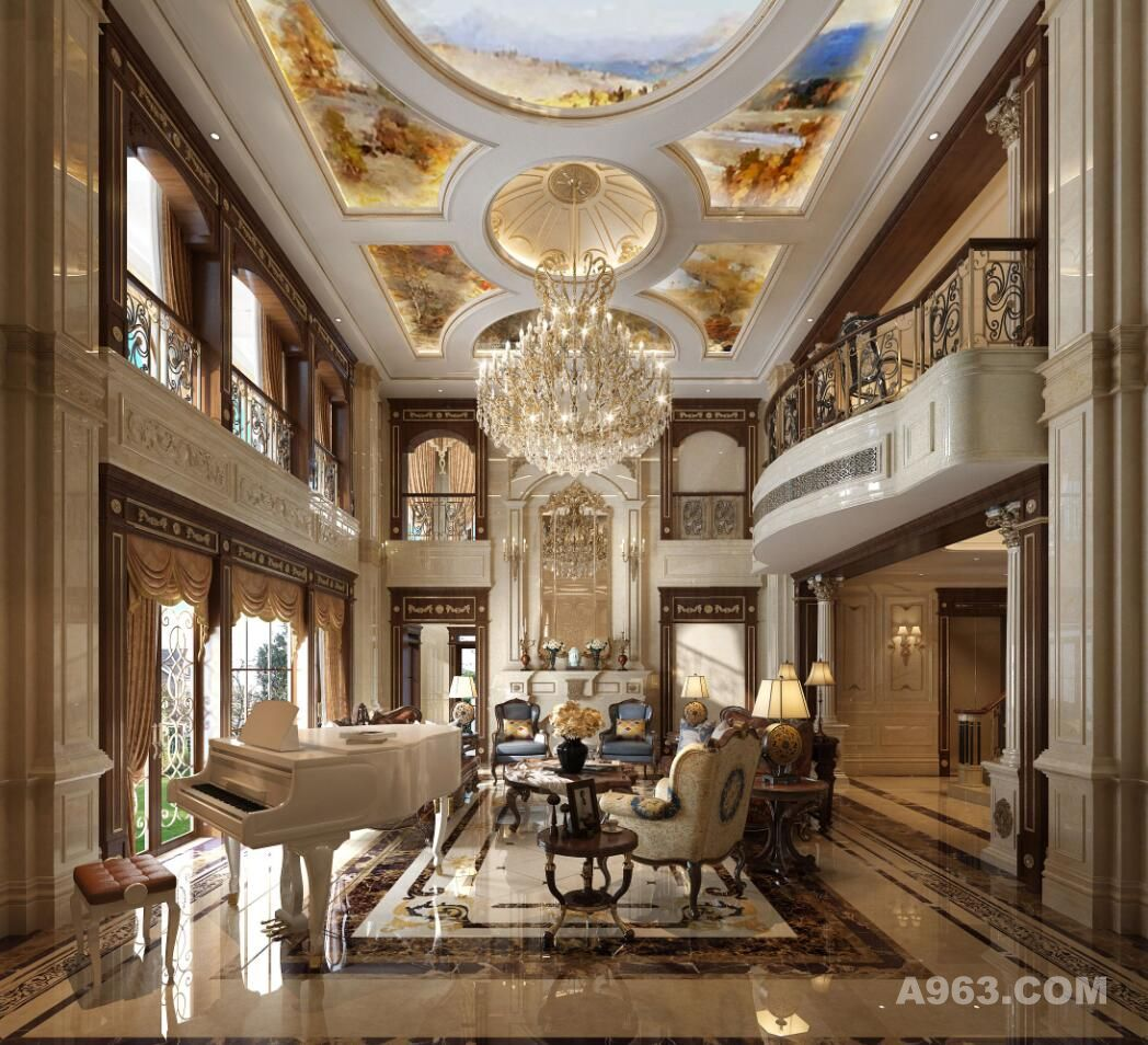四季雅苑别墅最新设计案例——法式古典