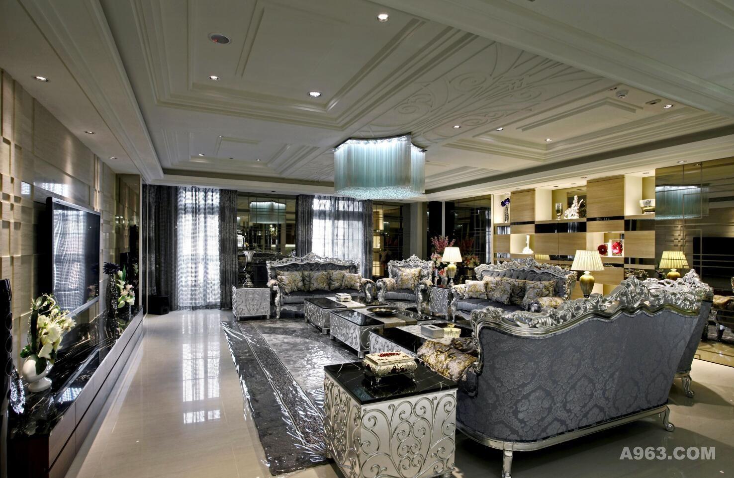 汤臣一品顶级豪宅装修设计 - 别墅豪宅 - 腾龙设计