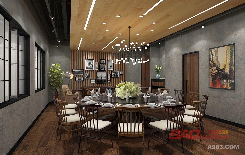 外婆家澎湖湾工业风餐厅 - 餐饮空间 - 李景光设计